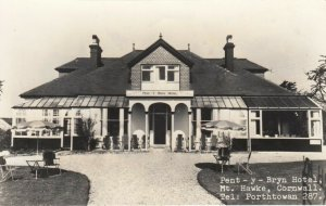 RP: MT. HAWKE, Cornwall, England, 1930-50s; Pent - y - Bryn Hotel