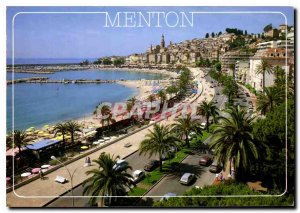 Modern Postcard The French Riviera Menton Perie de France Porte de France in ...