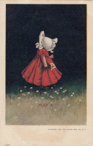 DIXON ;Sunbonnet Girl , Months of Year , MAY , 1901-07
