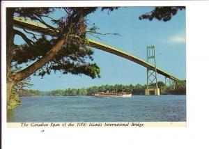 Canadian Spam, Bridge, Cuise Boat,  Thousand Islands, Ontario, Canada