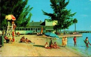 Florida Gulfport Casino and Fishing Pier On Boca Ciega Key 1956