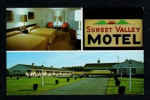 PA Sunset Valley Motel LANCASTER PENNSYLVANIA PENN PC