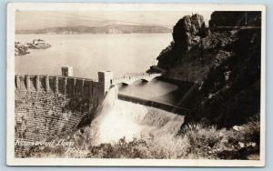 Postcard AZ Arizona Roosevelt Dam Real Photo RPPC #2 F26