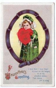 St. Valentine's Greeting - Ellen H. Clapsaddle