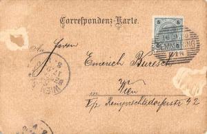 Semmering Austria Gruss vom Kalte Rinne Antique Postcard J76271