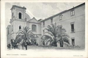 Sorrento Italy Hotel Cocumella c1900 UDB Promo Adv Postcard EXC COND