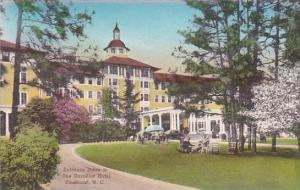 North Carolina Pinehurst Carolina Hotel Entrance Drive Albertype
