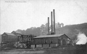 E93/ Salineville Columbiana Co Ohio Postcard c1910 Sterling Coal Mine Tipple 13