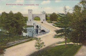 Emrichsville Bridge,  Indianapolis,Indiana, PU-00-10s