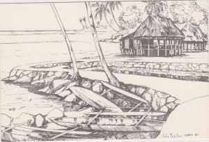 Waterfront , Samoa , 1985