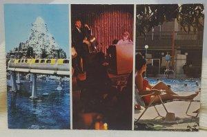 Charter House Hotel Anaheim California Vintage Postcard