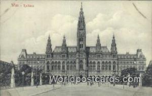 Wien, Vienna Austria, Österreich Rathaus  Rathaus