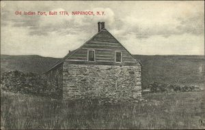 Napanoch NY Old Indian Fort c1910 Postcard