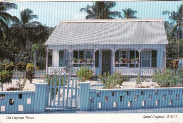 Cayman Islands Grand Cayman The Old Cayman House In West Bay