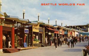 WA - Seattle, 1962. Seattle World's Fair (Century 21 Exposition). Boulevards ...