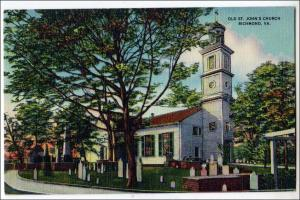 old St John's Church, Richmond VA