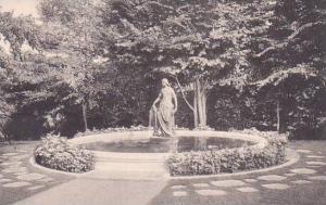 Massachusetts Northampton The Lanning Fountain Smith College Albertype