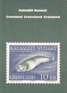 Kalaallit Nunaat, GREENLAND, Fish 10 KR Stamp, 1984