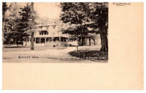 Connecticut  Ridgefield , Bailey Inn