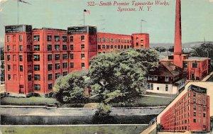 Smith Premier typewriter works Syracuse, New York, USA Typewriter 1913