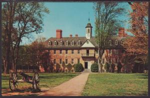 Wren Building,William and Mary,Williamsburg,VA Postcard BIN