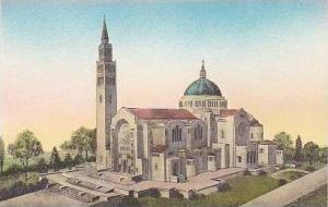 Washington DC National Shrine of The Immaculate Conception Albertype