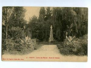 155737 FRANCE NANCY Buste de Crevaux Vintage RPPC to RUSSIA