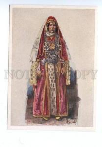 141714 CAUCASUS Types GEORGIAN Dzhavakhk Woman by TILKE OLD PC