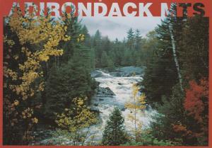 Beautiful Adirondack Mountain View NY, New York pm 1996