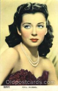 Gail Russell Actor, Actress, Movie Star, Postcard Post Card Actor Actress, Mo...