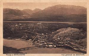 Albania Shkodër Shkodra Scutari 1938 postcard