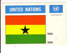 Ghana Flag, United Nations