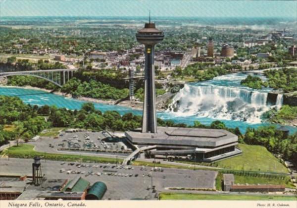 Canada Niagara Falls Panorama