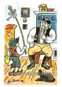 Artist Josef Lada J Lady Postcard Post Card unused