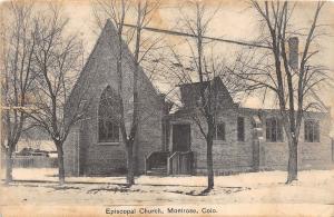 E32/ Montrose Colorado Postcard 1911 Episcopal Church Building