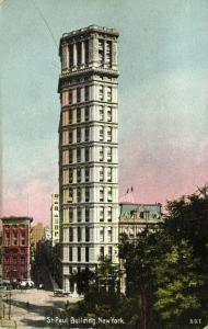 NEW YORK, N.Y., St. Paul Building (1910s)