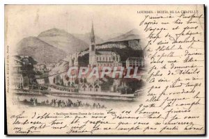 Postcard Old Basilica of Our Lady of Lourdes