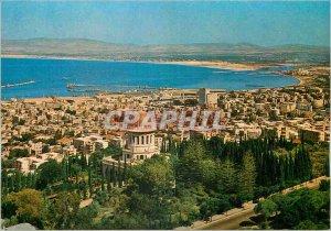 Postcard Modern Haifa General View an Important Port