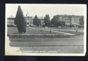 RPPC ST BENEDICT OREGON MOUNT ANGEL ABBEY CATHOLIC SEMINARY PHOTO POSTCARD