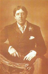 Nostalgia Postcard Irish Poet Playwright Oscar Wilde 1854-1900 Repro Card NS7