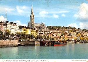 Cork Ireland St Colman's Cathedral and Waterfront Cork St Colman's Cathedral ...