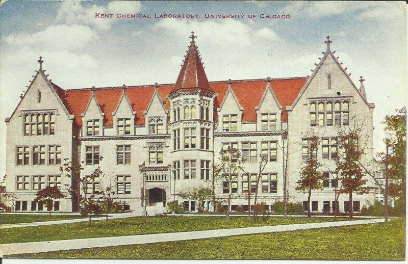 Kent Chemical Laboratory, University of Chicago Illinois