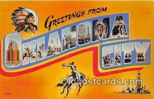 Oklahoma City Oklahoma, USA Postcard Post Cards Oklahoma, USA Oklahoma City