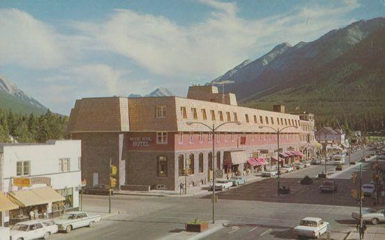 The New Mount Royal Hotel Banff Alberta Canada 1960s Postcard