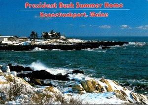 Maine Kennebunkport President Bush Summer Home