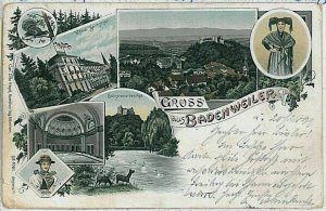 33736 - Ansichtskarten  POSTCARD - Deutschland GERMANY - GRUSS AUS Badenweiler
