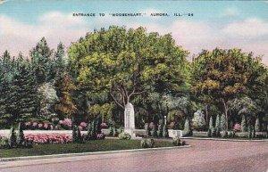 Illinois Aurora Entrance To Mooseheart