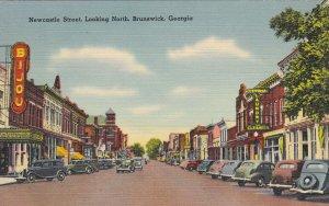BRUNSWICK , Georgia , 30-40s ; Newcastle Street