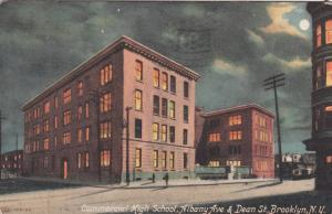 BROOKLYN , New York, PU-1913; Commercial High School, Albany Ave. & Dean St.