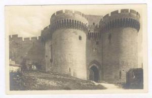 RP  Villeneuve-les-Avignon, Chateau. L'Entree, France, 00-10s